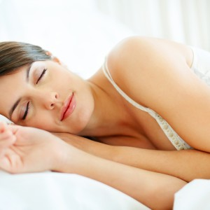 Woman sleeping_relaxing